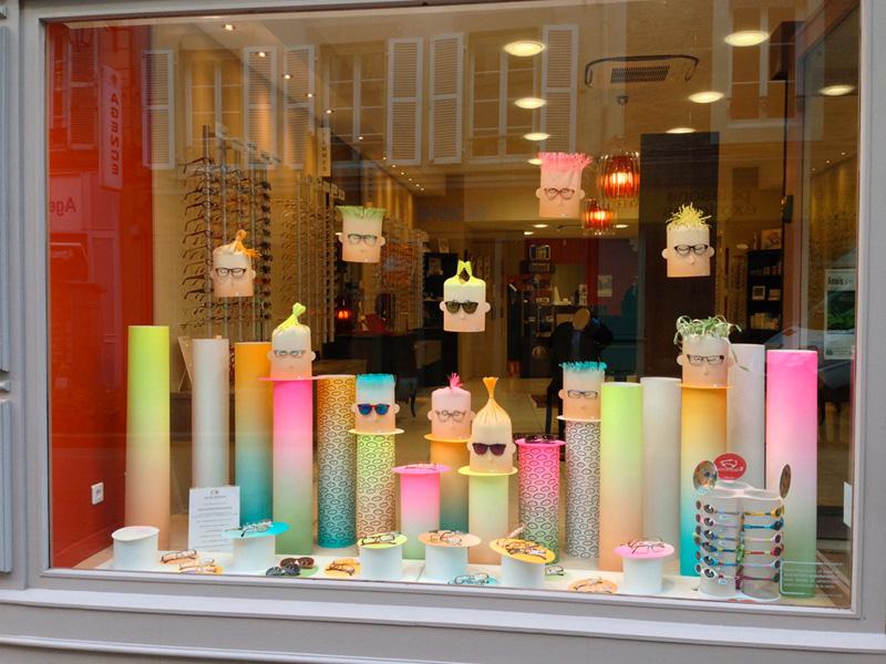 Optical tubes sprayfun - Idee decoration vitrine ...