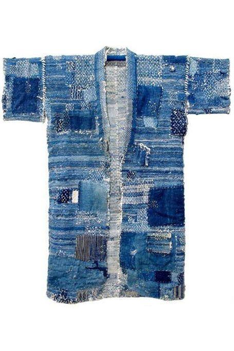 Antique Boro kimono